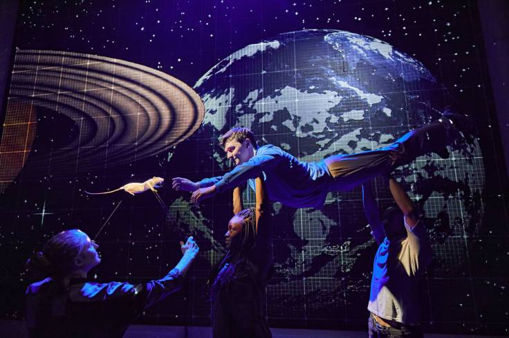 Curious Incident of the Dog in the Night-Time Lowry Theatre Review Mark Haddon National Theatre