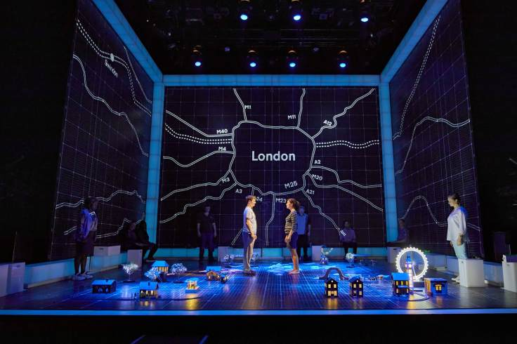 Curious Incident of the Dog in the Night-Time Lowry Theatre Review National Theatre Mark Haddon Bunnie Christie