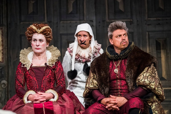Hamlet Globe Theatre Michelle Terry Review Gender Blind Casting James Garnon Claudius