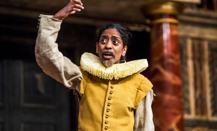 Hamlet Globe Theatre Michelle Terry Review Gender Blind Casting Nadia Nadarajah Guildenstern