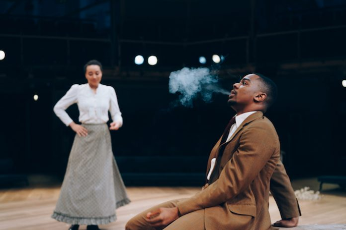 The Cherry Orchard Anton Chekhov Royal Exchange Manchester Bristol Old Vic Theatre Review Jude Owusu Kirsty Bushell