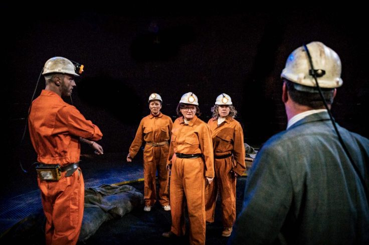 The Queens of the Coal Age Royal Exchange Manchester Theatre Review Maxine Peake