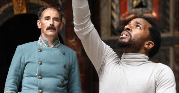 Othello Shakespeare's Globe Theatre Mark Rylance Iago Andre Holland Othello Theatre Review