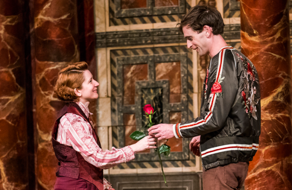 As You Like It Shakespeare's Globe Theatre Review Jack Laskey Bettrys Jones
