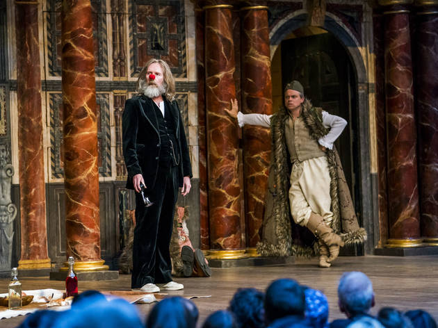 As You Like It Shakespeare's Globe Theatre Review Pierce Quigley Jacques