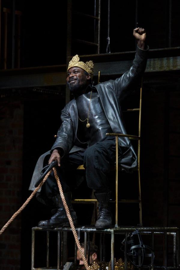 RSC Tamburlaine Stratford Upon Avon Royal Shakespeare Company Jude Owusu