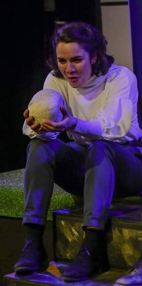 Eve Shotton Hamlet All Female Shakespeare Hope Mill Theatre Manchester