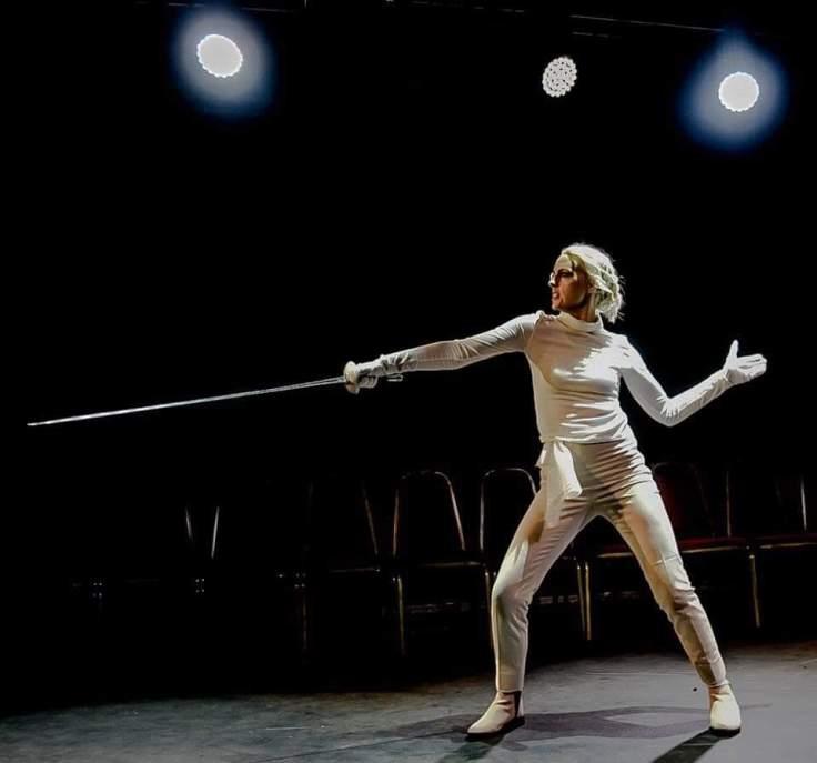 Zoey Barnes Laertes Hope Mill Theatre All Female Hamlet Girl Gang Manchester
