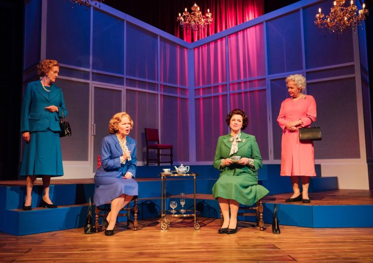 Handbagged Oldham Coliseum Manchester The Queen Margaret Thatcher