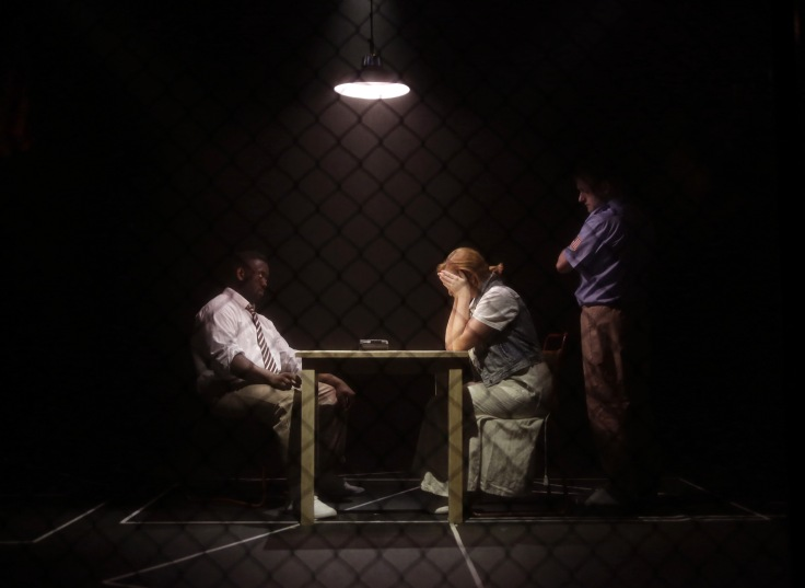 The Exonerated Hope Mill Theatre Manchester Joseph Houston Jessica Blank Eric Jensen