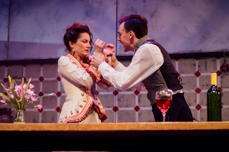 Miss Julie Hope Mill Theatre Review Manchester Danny Solomon Lois Mackie Alice Frankham