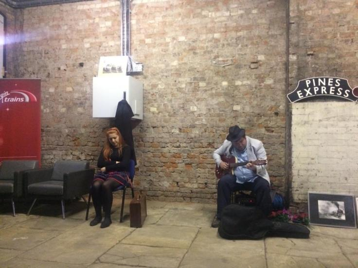 The Suitcase, The Beggar & The Wind Stockport Station Gare Du Nord Theatre Group Manchester Theatre GM Fringe