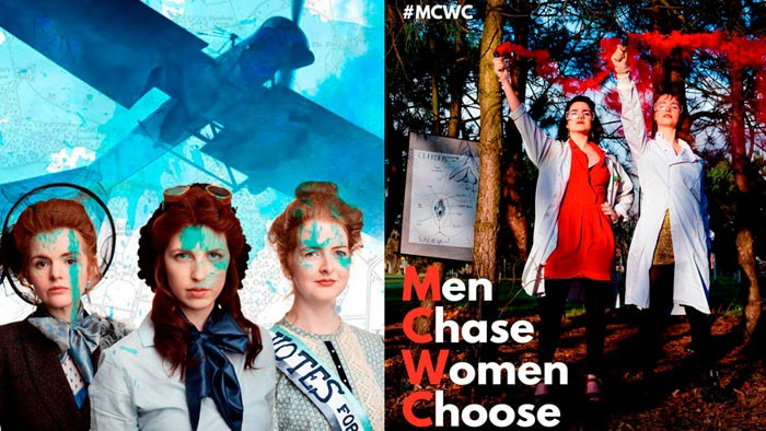 Clouds Men Chase Women Choose Oldham Coliseum Main House Takeover Whats on in Manchester September Theatre Reviews