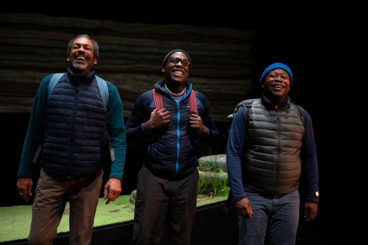 Black Men Walking Oldham Coliseum Manchester Theatre Reviews Eclipse Theatre Company