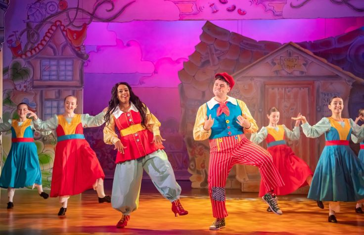 Jack and the Beanstalk Oldham Coliseum Review Manchester Theatre Review Panto