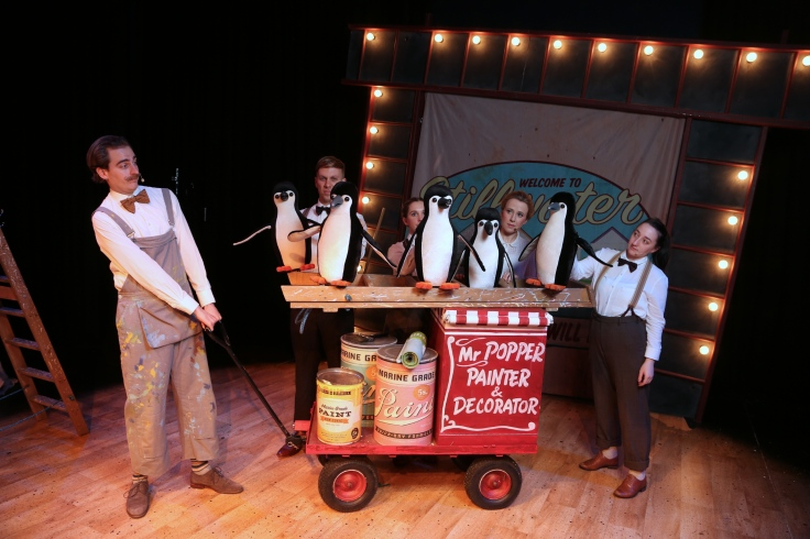 Mr Poppers Penguins Sale Waterside Arts Manchester Theatre Review Pins and Needles
