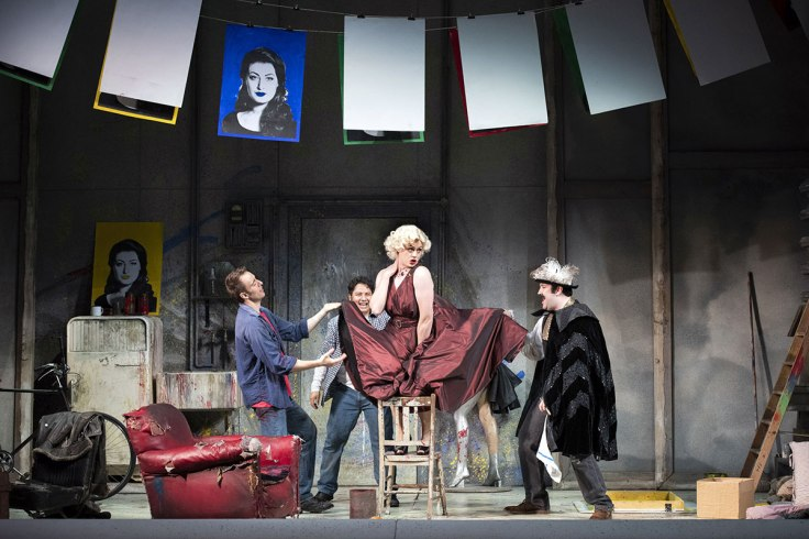 Opera North La Boheme Lowry Theatre Review Manchester
