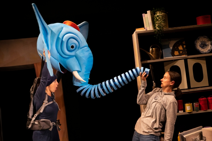 The Slightly Annoying Elephant Review HOME Theatre Manchester David Walliams Little Angel Theatre