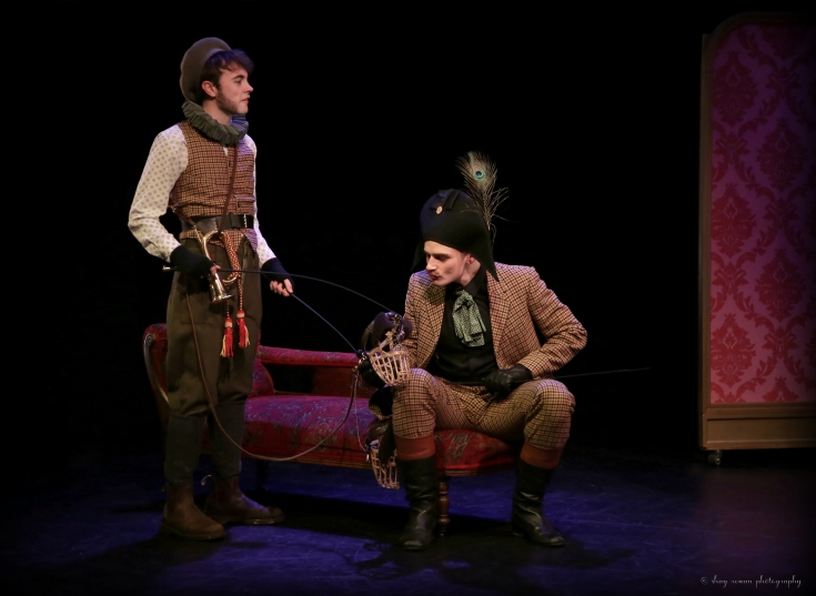 Manchester School of Theatre The Beau Defeated HOME Manchester Theatre Review