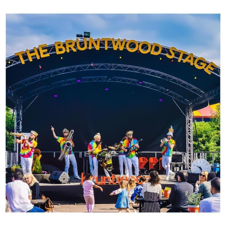 The Bruntwood Stage at Homeground, Manchester.